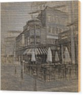 Goody Glovers Irish Pub - Boston Wood Print