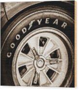 Goodyear Tire -0250s Wood Print