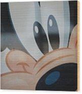 Goofy Wood Print
