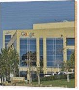 Google Orange County Wood Print