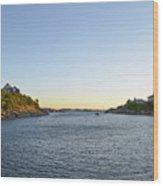 Goose Neck Cove - Newport Rhode Island Wood Print