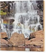 Gooseberry Falls 7 Wood Print
