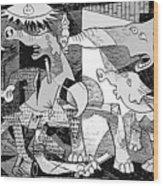 Gop Guernica Wood Print