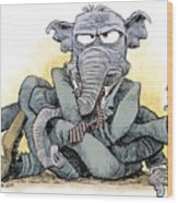 Gop Tied Up In A Knot Wood Print