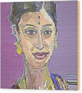 Gopika II Wood Print