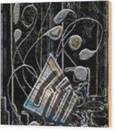 Gordian Harp Wood Print