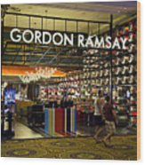 Gordon Ramsay Wood Print