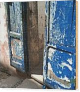 Goree Door Texture Wood Print