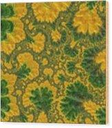 Gorgeous Fabric Design - Series Number Ten Wood Print