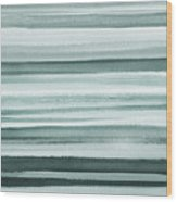 Gorgeous Grays Abstract Interior Decor I Wood Print