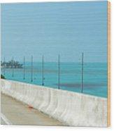 Gorgeous Key West Sea  Wood Print