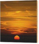 Gorgeous Sunset Wood Print