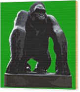 Gorilla Art Wood Print