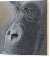 Gorilla Love Wood Print