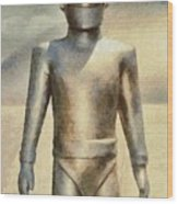 Gort From The Day The Earth Stood Still Wood Print
