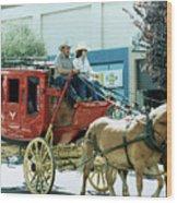 Goshen Parade 1980-2 Wood Print