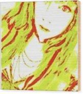 Goshikku Gyaru Wood Print