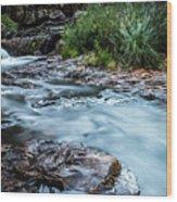 Gossamer Flow Wood Print