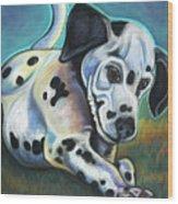 Gotballs4pets? Dalmatian Wood Print