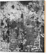 Gotham Castles Wood Print