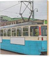 Gothenburg Tram Car Wood Print