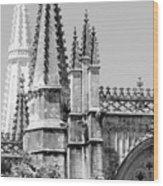 Gothic Detail  Wood Print