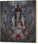 Gothic Elf  Wood Print