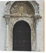 Gothic Entrance Wood Print