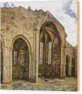 Gothic Temple Ruins - San Domingos Wood Print
