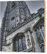 Gothic Wood Print