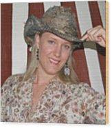 Gotta Love That Hat Wood Print