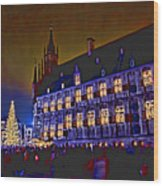 Gouda By Candlelight-1 Wood Print