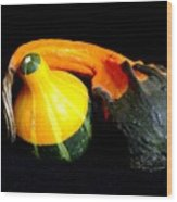 Gourds Wood Print