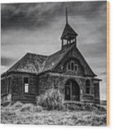 Govan Schoolhouse Wood Print