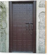 Governors Door Wood Print