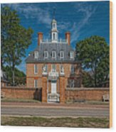 Governor's Palace Wood Print