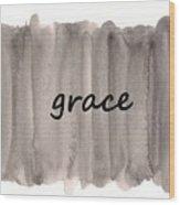 Grace 4 Wood Print