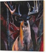 Grace Beauty And Wildness Wood Print