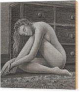 Grace Wood Print by Don Perino
