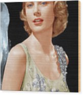 Grace Kelly, Ca. 1955 Wood Print by Everett