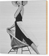 Grace Kelly Need I Say More Wood Print