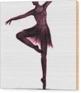 Grace - Pink Wood Print