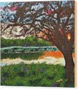 Grace Sunrise Wood Print