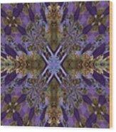 Graceful And Devine Wood Print
