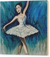 Graceful Dance Wood Print