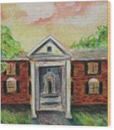 Graceland Wood Print