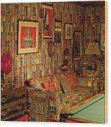 Graceland The Home Of Elvis Presley, Memphis, Tennessee Wood Print