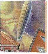 Graf Zeppelin Wood Print