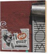 Graffiti 1 Wood Print