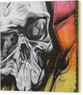 Graffiti 21 Wood Print